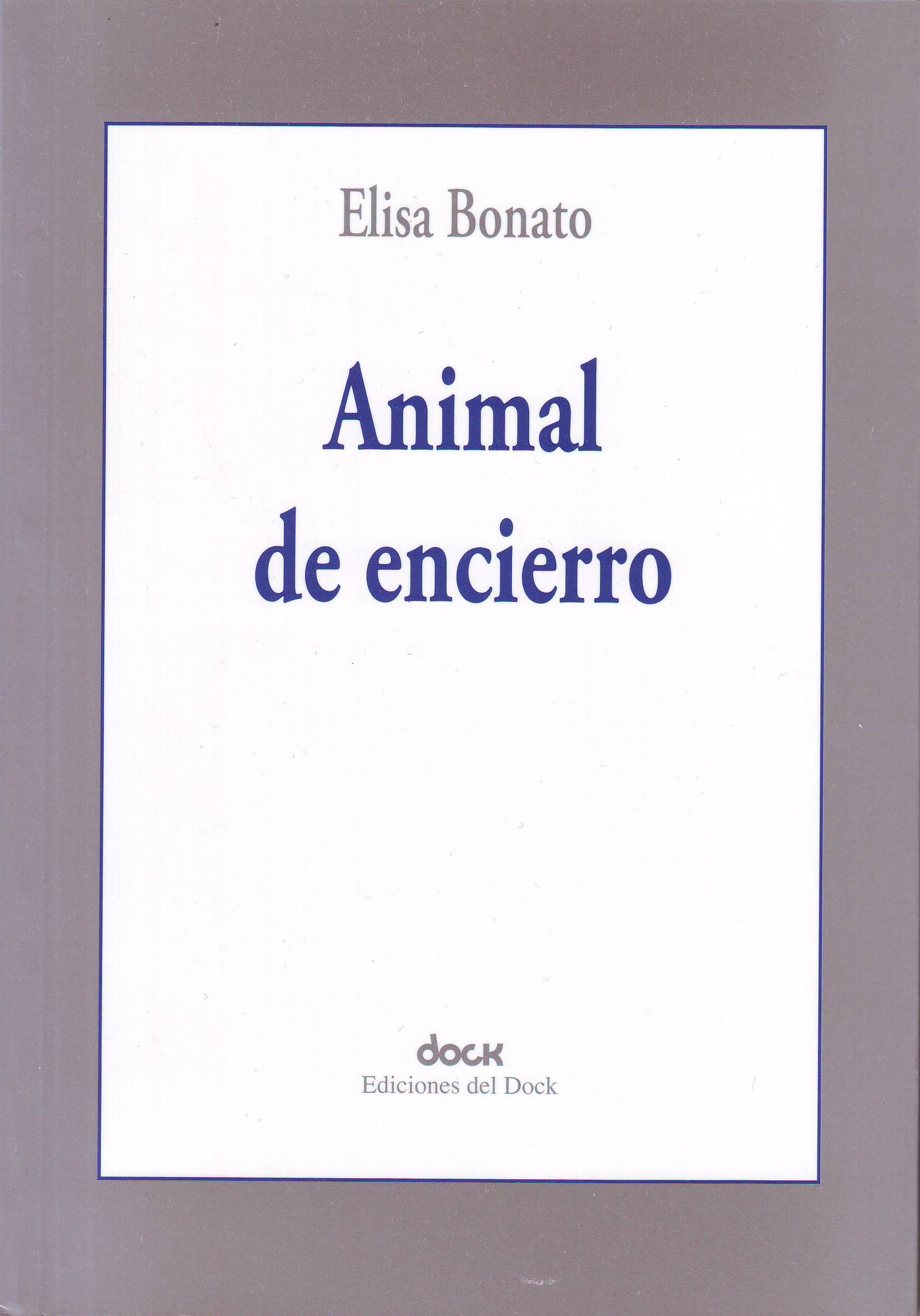 Animal de encierro